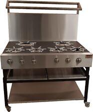 Curry cooker / asian cooker / Cooking Burners / 6 Ring Burner / range cooker NEW