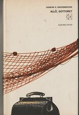 ALLO DOTTORE? CHARLES H. KNICKERBOCKER  CDE EDITORE 1965 COPERTINA BRUNO MUNARI