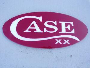 CASE XX DISPLAY SIGN