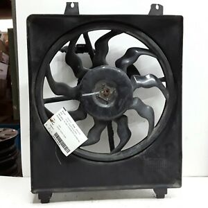 07 08 09 Hyundai Santa Fe condenser cooling fan without trailer package OEM