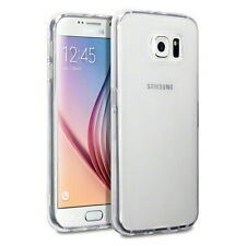 Crystal Clear Thin Back TPU Gel Jelly Skin Case Cover For Samsung S6 UK SELL