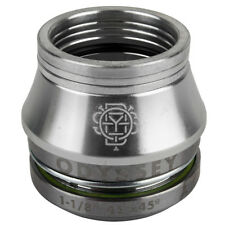 Odyssey Integrated BMX Pro Conical Headset 1-1/8 in. Silver w/ Conical Spacer