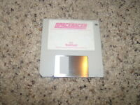"""Space Racer for the Commodore Amiga on 3.5"""" floppy disk"""