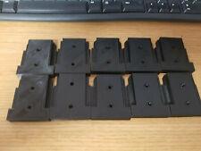 10 Pack 3D Printed 20V Tool Holders Made For Dewalt Black