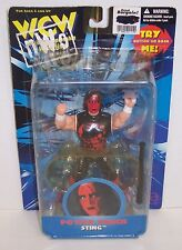 """New! WCW/NWO OSFTM Power Punch Featured """"Sting"""" Action Figure WWE WWF [1153]"""