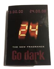 ScentStory 24 GO DARK THE FRAGRANCE 0.04 oz 1.2 ml EDT Spray Mini/Travel Sample