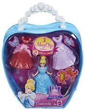 Disney Princess MagiClip CINDERELLA Fashion Bag W/3 Dress clips- FREE SHIPPING