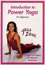 USED  DVD //  Yoga Zone: Introduction to Power Yoga // Lisa Bennett