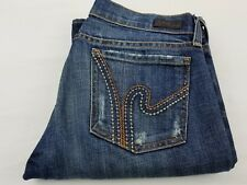 citizens of humanity Womens Size 26 ric rac 108 Stretch Low Waist boot Cut Jeans