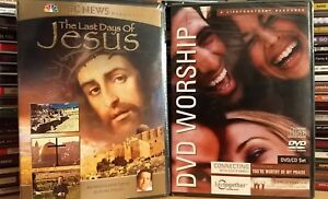 The Last Days Of Jesus + WORSHIP  - 2 DVD SET  NEW/SEALED  FREE SHIPPING