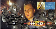 """Doctor Who Collectable Stamp Cover """"The Age of Steel"""" Signed ANDREW HAYDEN SMITH"""