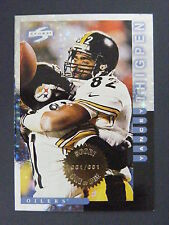 Yancey Thigpen 1998 Score Showcase One of One Masterpiece Steelers Oilers 1/1
