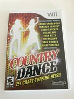 Country Dance Nintendo Wii Game 2011  25+ Chart-Topping Hits!
