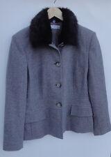 Dressbarn gray/black Women's Jackets Size-L
