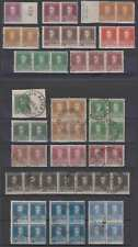 ARGENTINA 1923-24 SAN MARTIN Sc 340 thru 352 (56x) SPECIALIZED GROUP MULTIPLES+