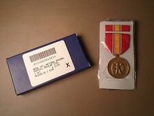 GENUINE USGI NATIONAL DEFENSE SERVICE MEDAL SET NDSM 1991 NEW 11-B