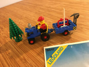 Lego City Town Set 6647 Highway Repair (1980).
