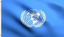 3x5 United Nations Un Premium Quality Flag 3'x5' Banner Grommets Polyester