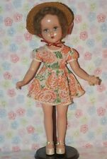 "PRETTY Vintage Arranbee Nancy Lee 17"" Composition Doll"