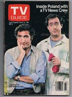 ORIGINAL Vintage June 6 1981 TV Guide No Label Taxi Andy Kaufman Judd Hirsch