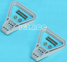 2 x 175AMP 350AMP ANDERSON STYLE PLUG HANDLE KIT 4X4 4WD TRUCK 175A 350A GREY