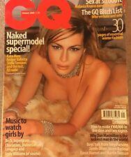 Melania Knauss Donald Trump 's First Lady - 2000 GQ UK British Fashion Magazine