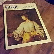 Bastei Galerie Der Grossen Maler  REMBRANDT  No. 6 Art Book Vintage 1966