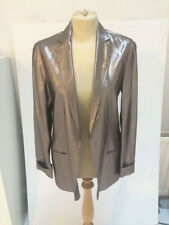 Hip Length Silk No Pattern None Coats & Jackets for Women