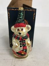 BOYDS BEARS GLASS SMITH COLLECTION XMAS ORNAMENT 1997-98  #20041