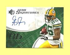 GREG JENNINGS 2008 SP AUTHENTIC STAR SIGNATURES SPSS-13