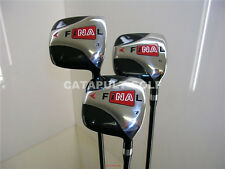 NEW BIG BLACK SQUARE 3 5 7 WOOD SET FINAL GOLF CLUBS NR