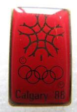 Pin's Jo Jeux olympiques CALGARY 88 #E4