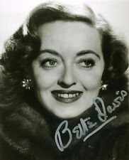 6 Pictures Bette Davis 8x10 inch Photos Autograph PrePrints Six Photos 5 Signed