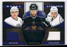 2012-13 PANINI CROWN ROYALE ROYAL LINEAGE TAYLOR WILLIAMS CLIFFORD JERSEY 3