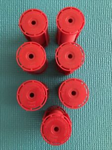 7 Jumbo Large Caruso Professional Molecular Rollers w/Shields Steam (#B-617-D7)
