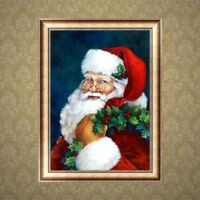 Christmas Santa Claus DIY Full 5D Diamond Painting Cross Stitch Kit  Home Decor