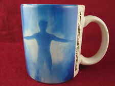 Vintage 1989 Quantum Leap Tv Show Coffee Mug Cup RaRe Sott Bakula Dean Stockwell