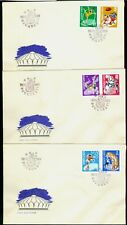 1969 Circus,Bike,Clown,Tiger,Horse,Umbrella,Parasol,Circo,Cirque,Romania,2790FDC