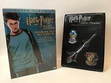 (En Francais) NEW Harry Potter Years 1-3 (6-Disc Set) 3 Movie Box Set W/ Gift!