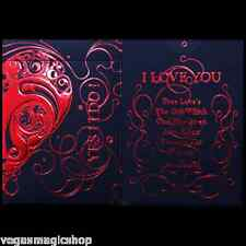 Love Promise Red Bicycle Playing Cards Poker Size Deck Custom Limited Edition