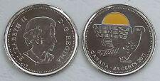 Kanada / Canada 25 Cents 2011 p1169a CuNi unz.
