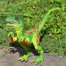 Green Velociraptor Raptor Dinosaur Toy Educational Model Birthday Gift For Kids