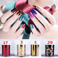 Wrap Nail Art Foil Sticker Transfer Decal Tip Manicure Nail Accessory Decoration