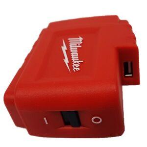 MILWAUKEE Powerbank Akku-Adapter M18 USB PS für Akku-Heizjacke M12 HJ + USB