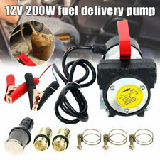 12V/200W Fuel Oil Transfer Pump Diesels Biodiesel Kerosene Self Priming for Car