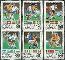 Timbres Sports Football Roumanie 4170/5 o lot 7142