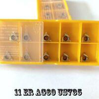 10pcs Gaobey 16IR1.5TR Threaded blade Carbide Inserts
