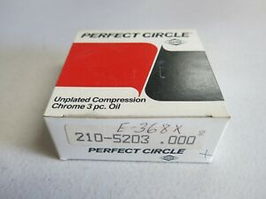 Perfect Circle E368X Engine Piston Ring Set fits Datsun, Mazda 1966 - 1978