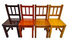 eHemco Kids Chairs Solid Hard Wood -Set of 2