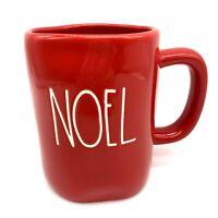 RAE DUNN Red NOEL  Christmas Holiday Coffee, Soup Mug, Cup 16 Oz